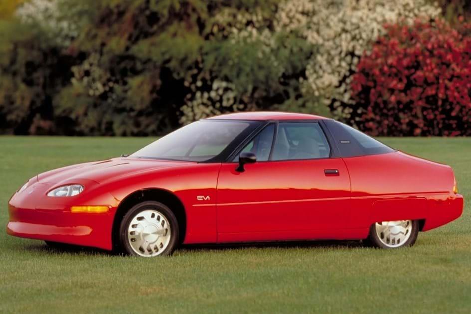 GM EV1 de lado