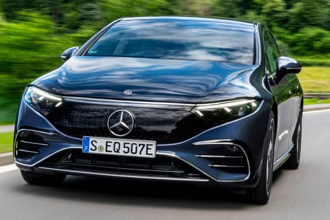 The new EQS from Mercedes-EQ: Press Test Drive, Switzerland 2021