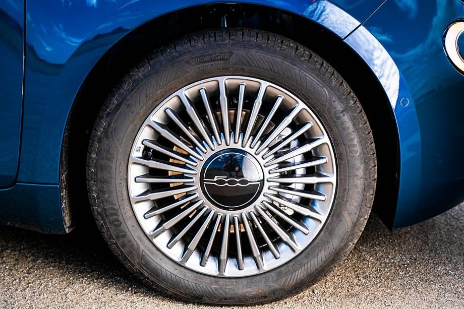 Rodas com desenho palitado parecem simples, mas têm seu charme