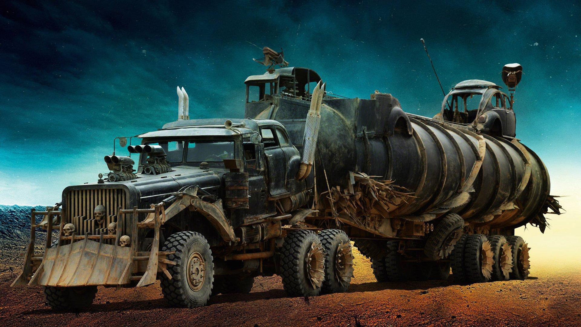Caminhão The War Rig certamente não é escolha óbvia para fretes