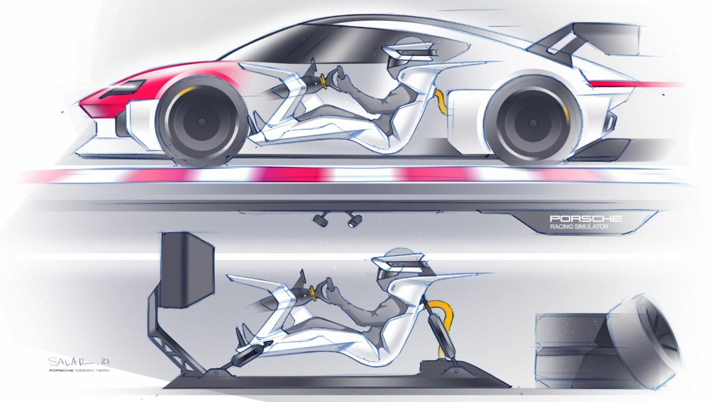 Porsche ressaltou bem a importância dos games no desenvolvimento do Mission R