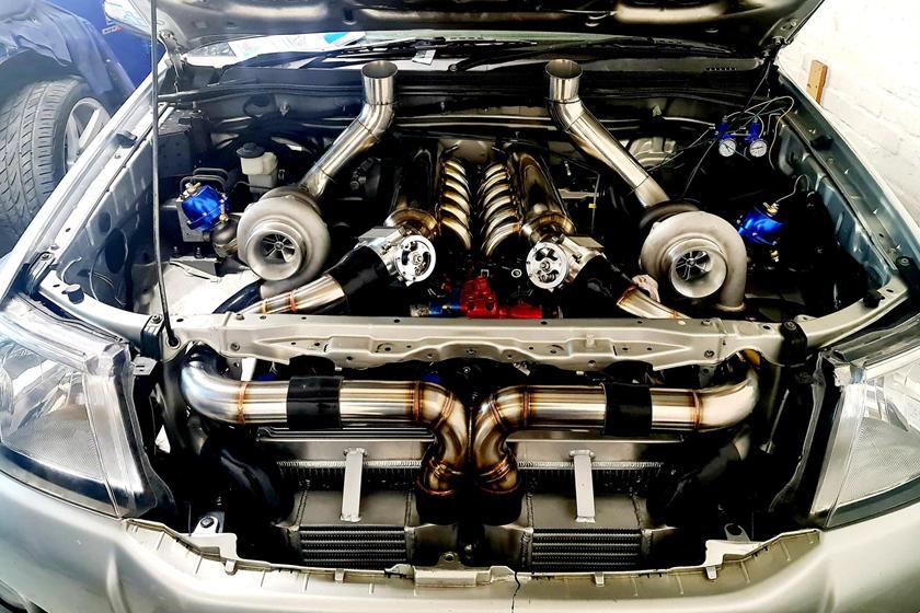 motor v12 hilux