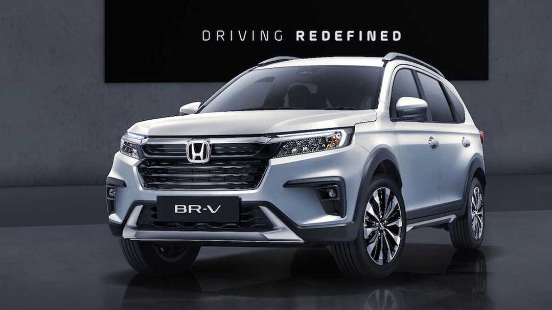Honda BR-V lançado na Indonésia frente