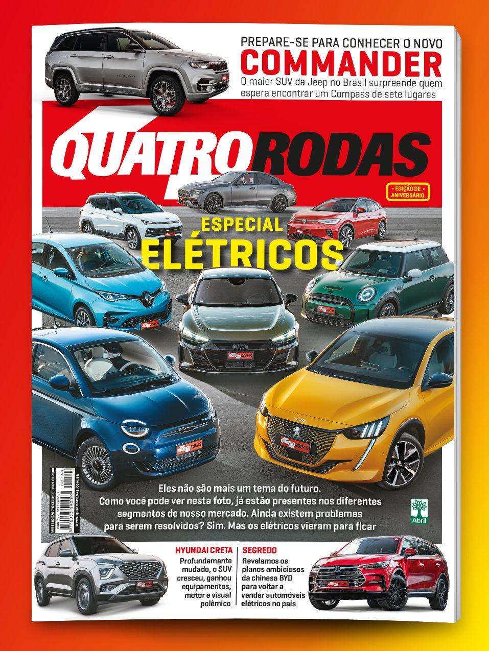 CAPA quatro rodas setembro edição 749