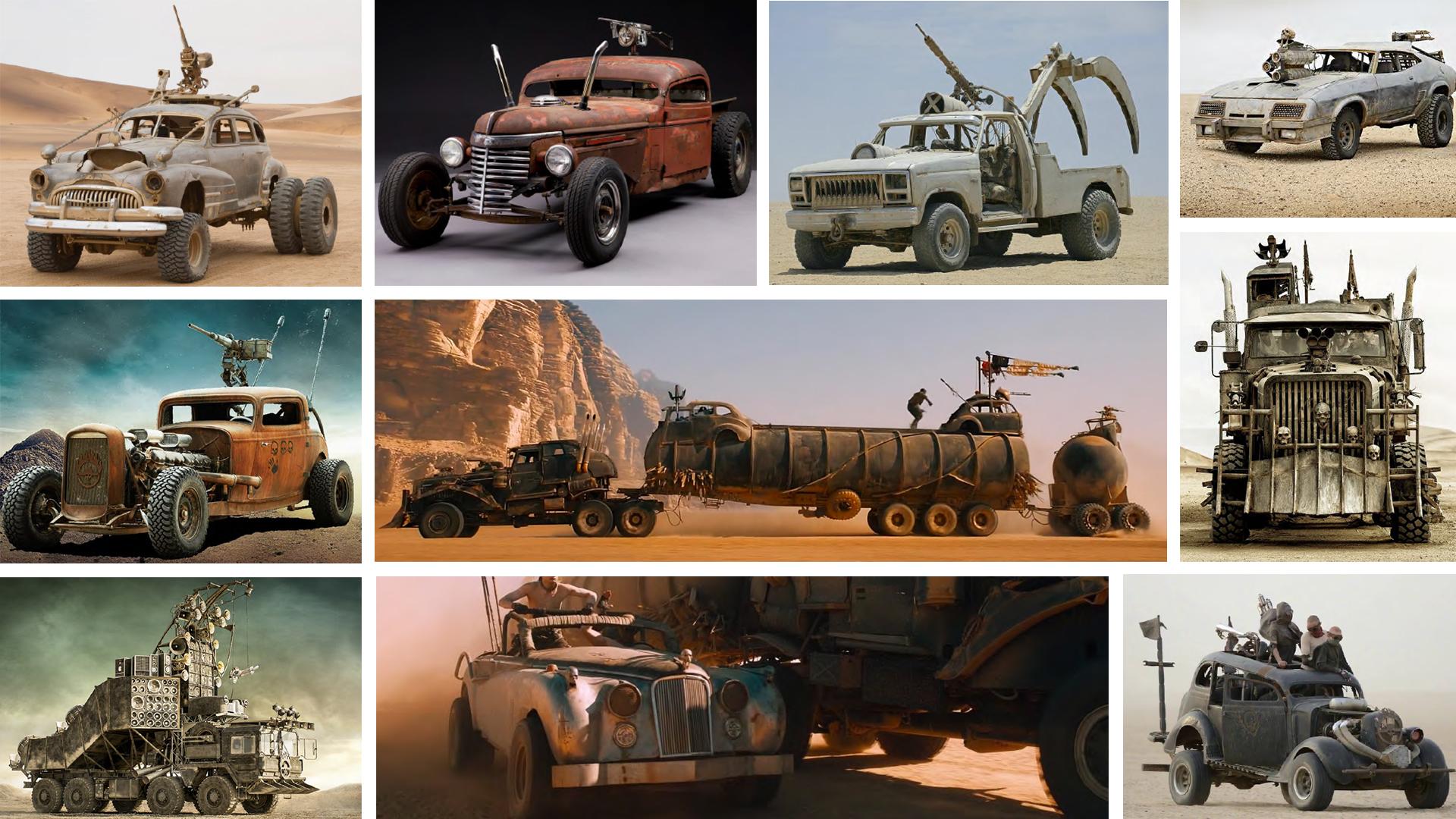 Já escolheu seu carro para o fim do mundo?