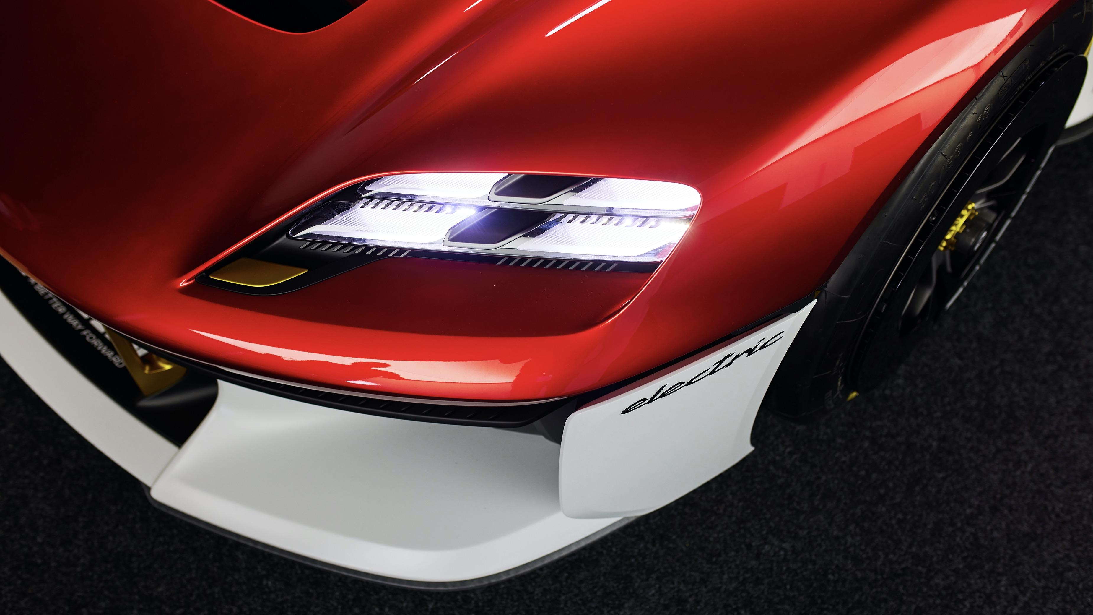 Faróis têm estilo baseado na iluminação do Porsche Taycan