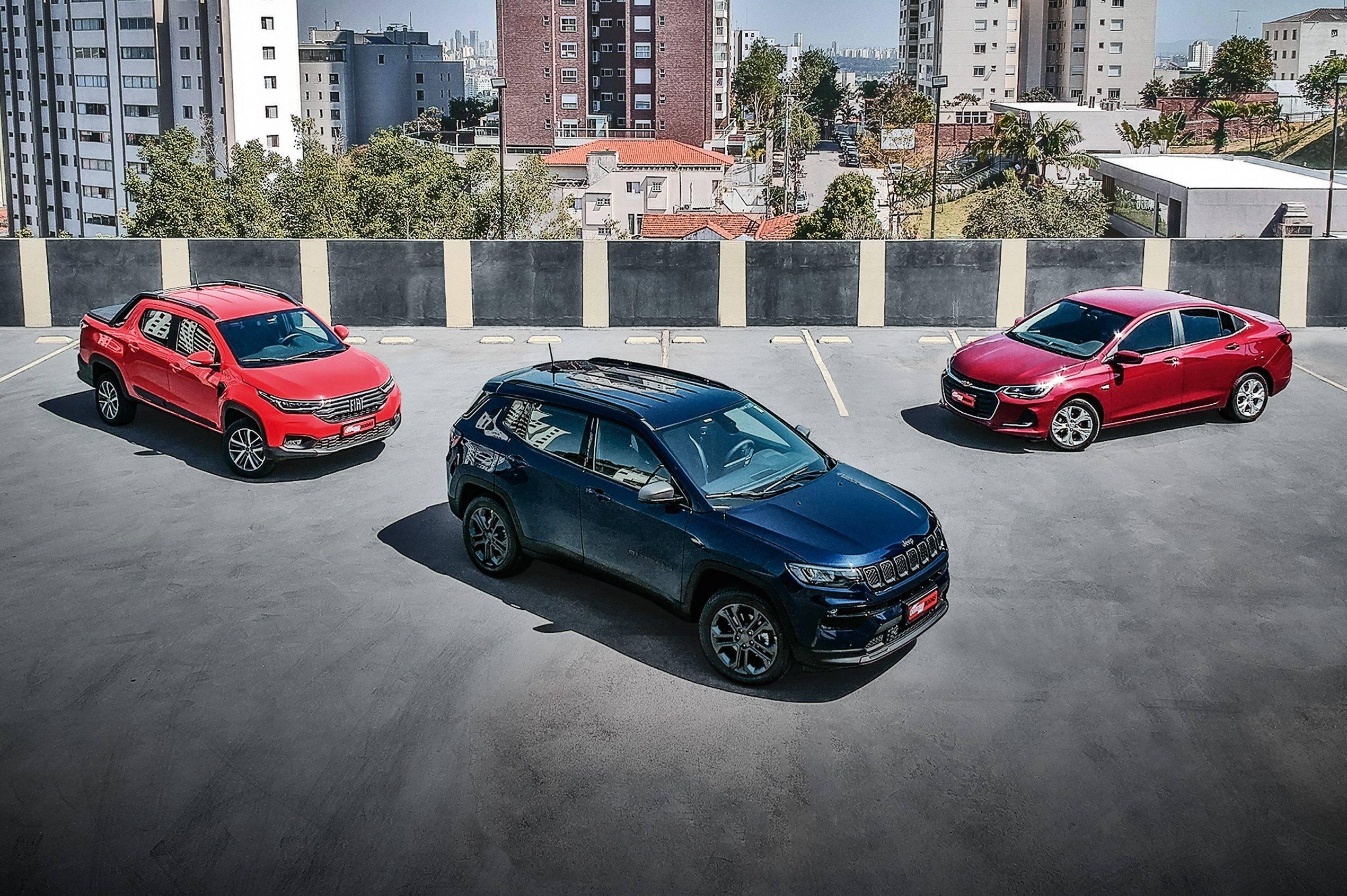 Já em teste, Fiat Strada e Chevrolet Onix também vão enfrentar o novo limite