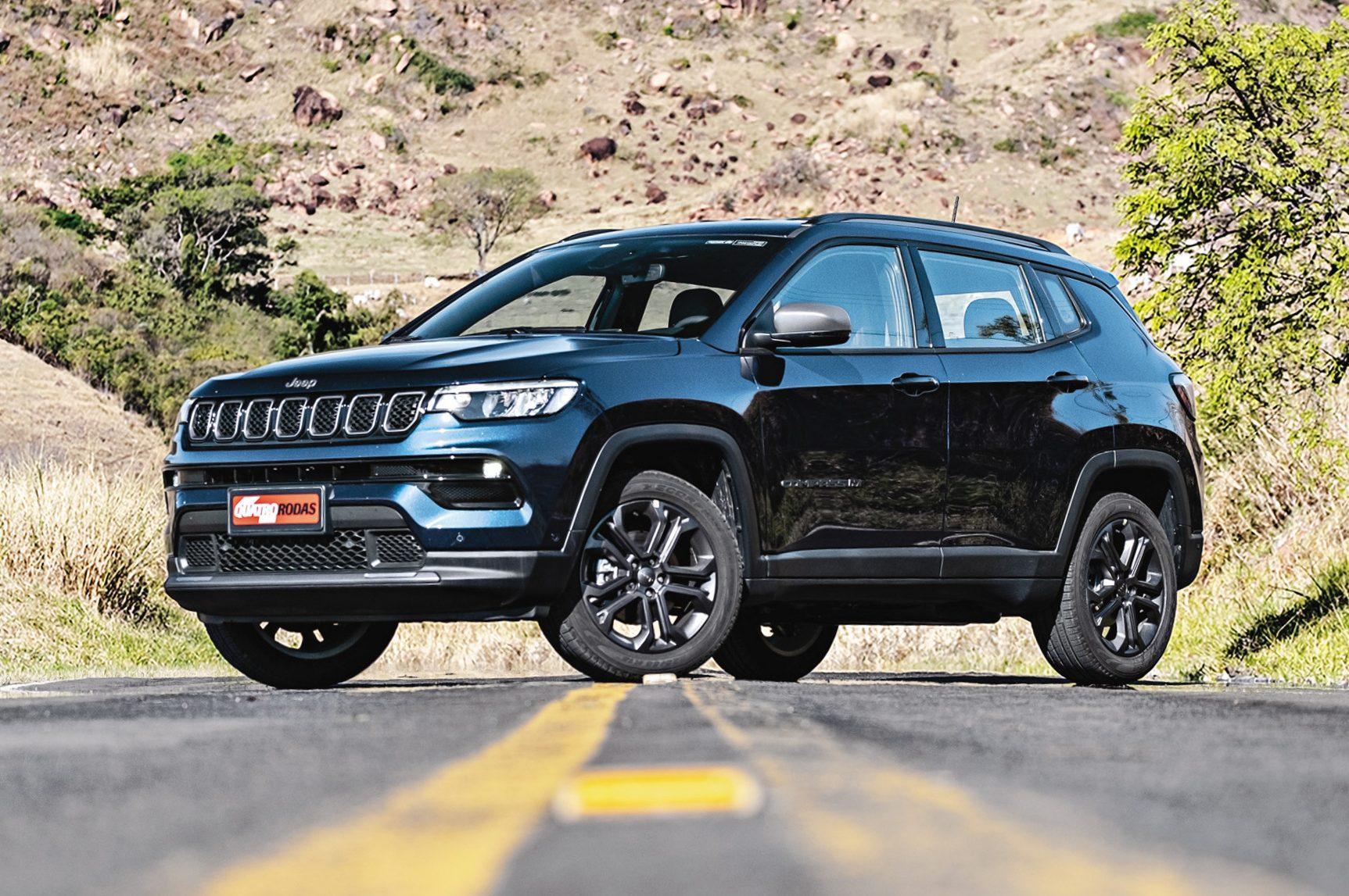 Jeep Compass 2022 1.3 turbo estreia no Longa Duração para rodar 100.000 km