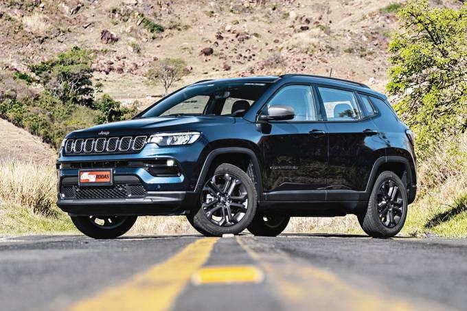 Jeep Compass 2022 longitude longa duração