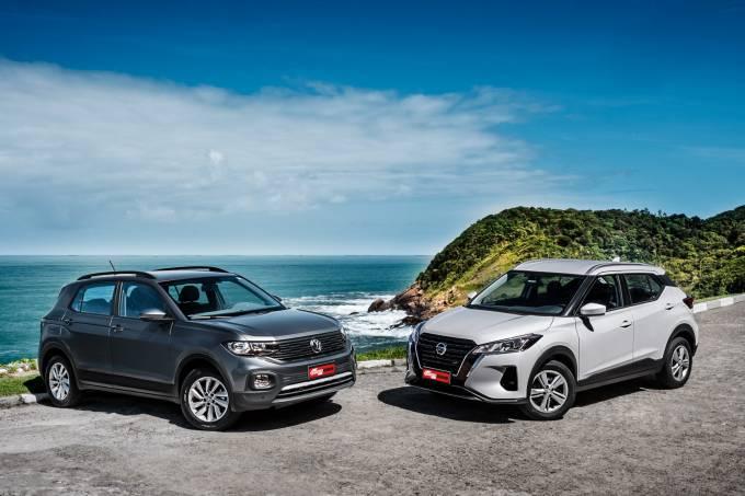 Comparativo: Nissan Kicks e Volkswagen T-Cross