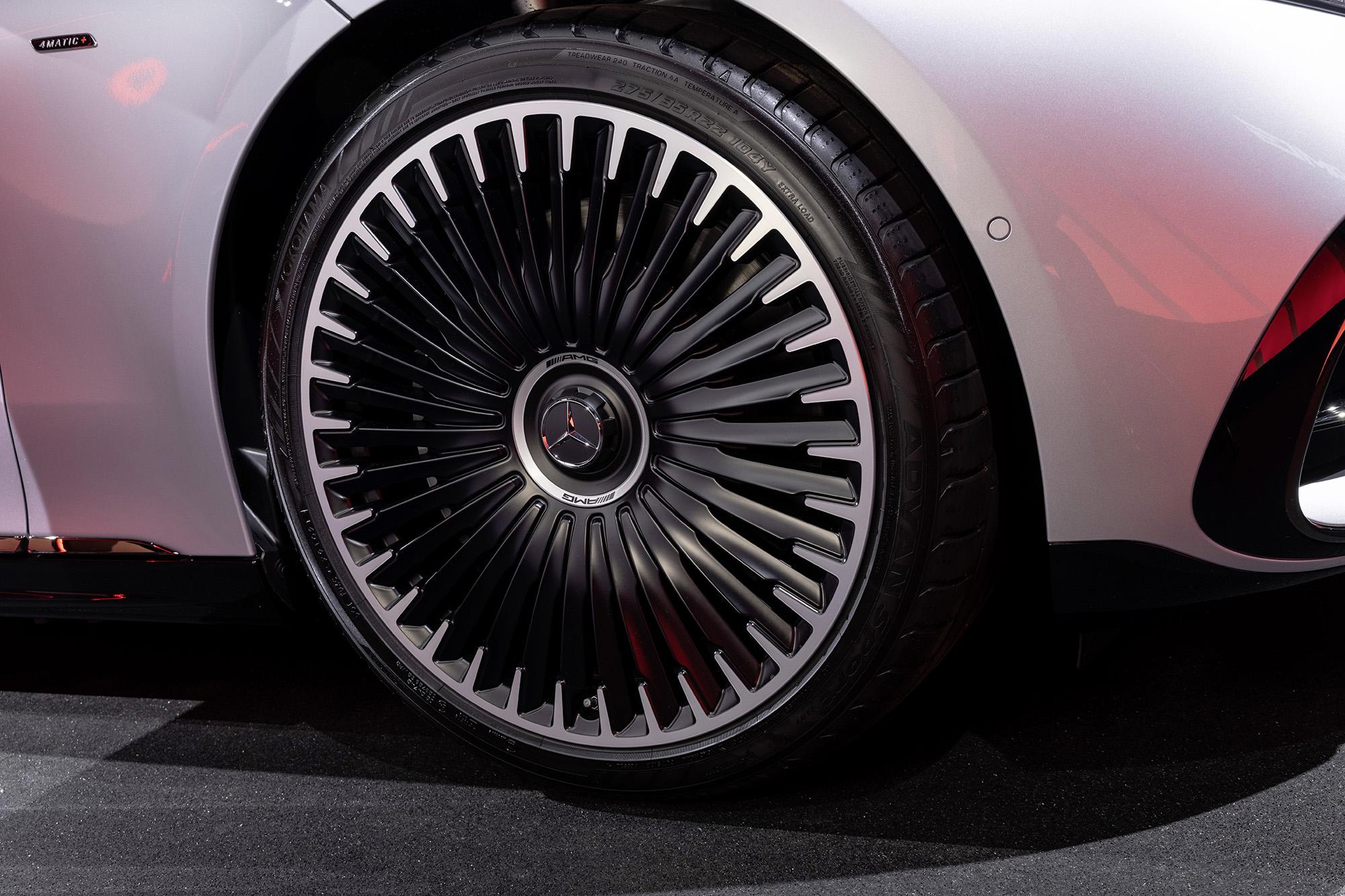 Roda do Mercedes-AMG EQS 53 4MATIC+