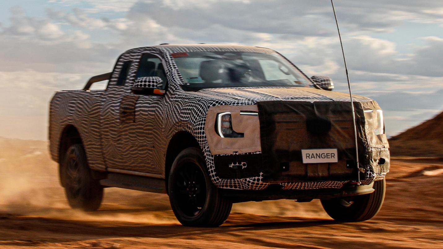 Nova Ford Ranger 2023 tirará o disfarce ainda neste trimestre