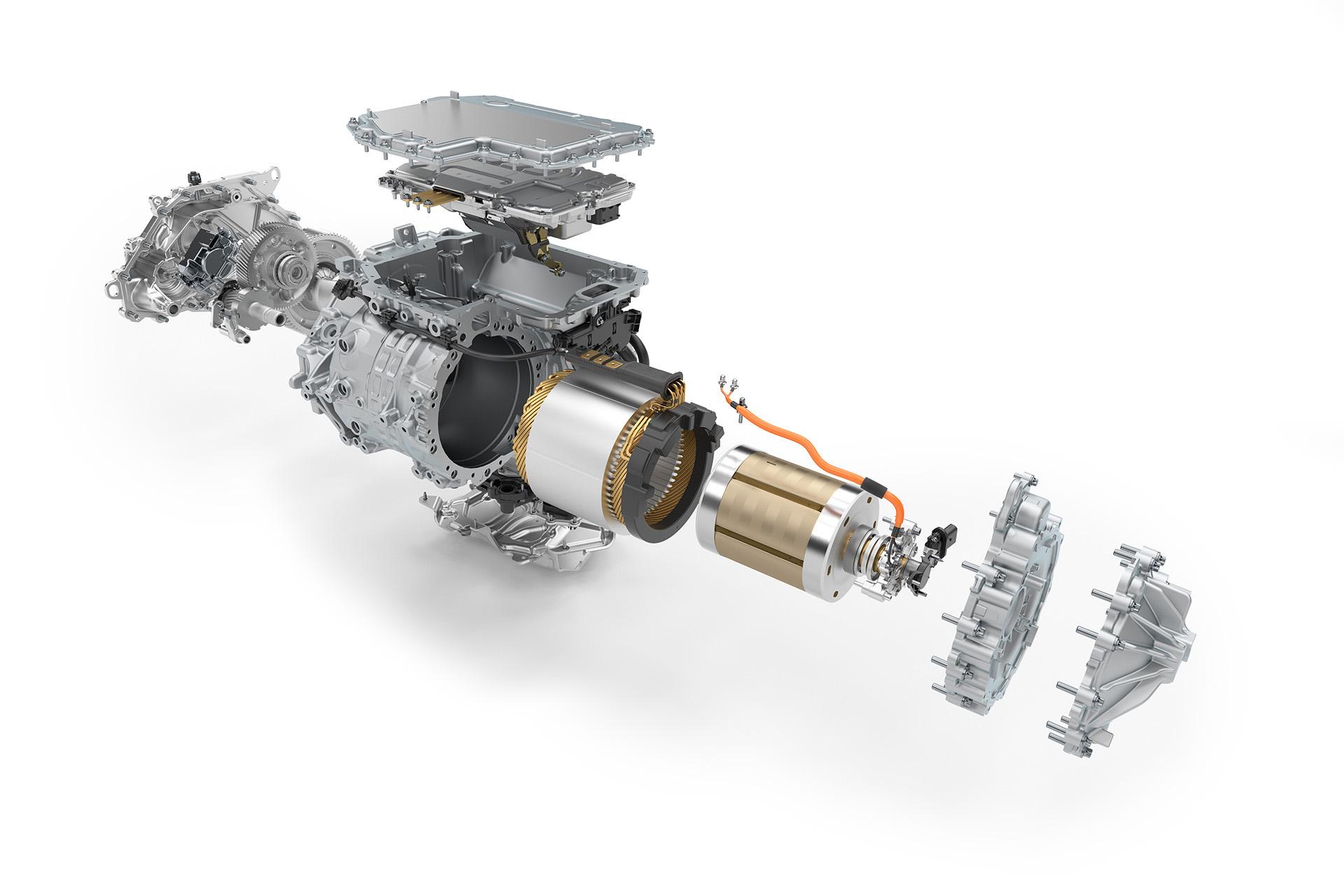 Ao contrário de motores PMS, o externamente excitado da BMW usa corrente direta para percorrer os fios de cobre do estator e gerar o campo eletromagnético que gira o rotor e, consequentemente, as rodas