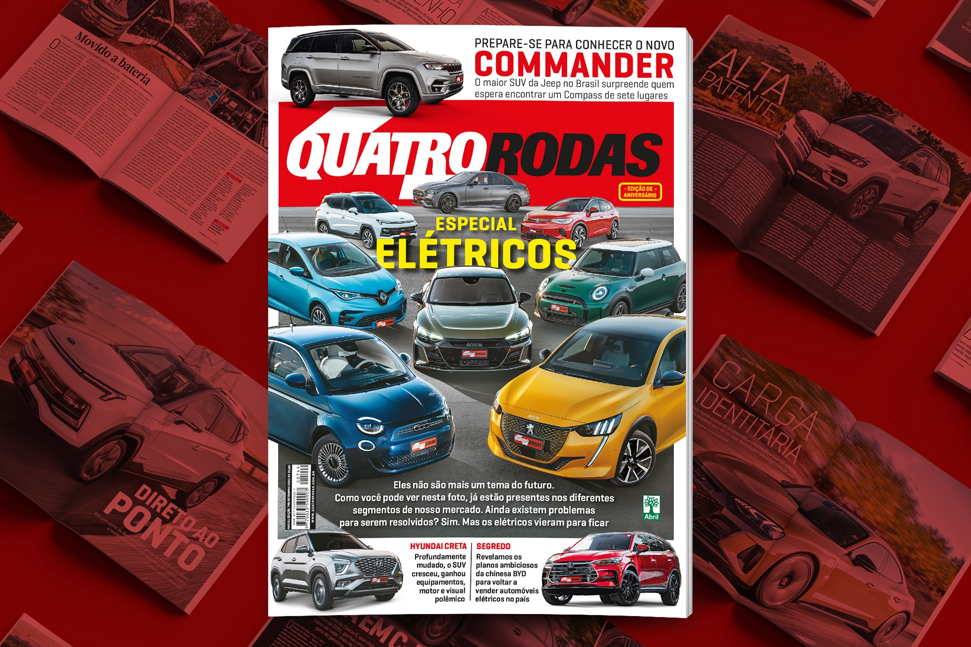 A edição 749 de QUATRO RODAS já está nas bancas!