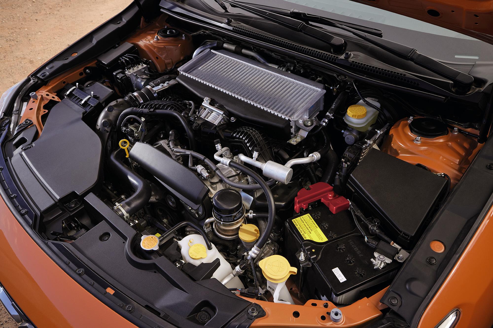 Motor do Subaru WRX 2022