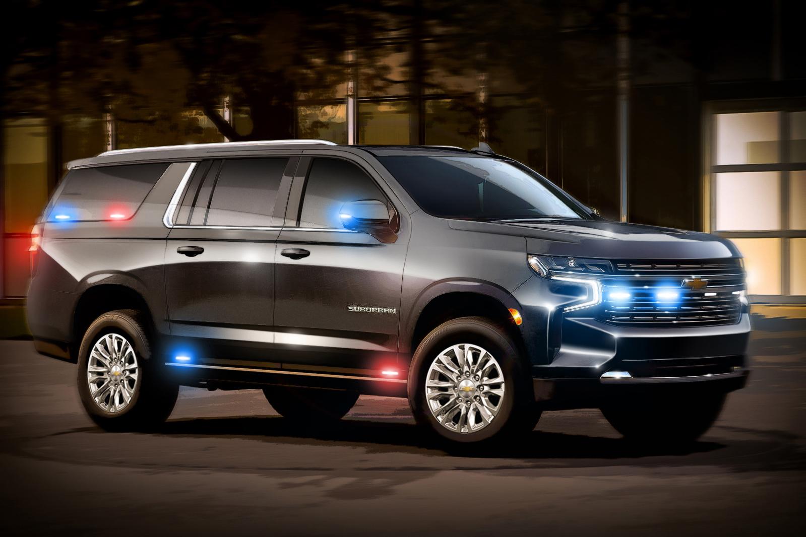Governo dos EUA vai pagar R$ 19 milhões por Chevrolet Suburban reforçado