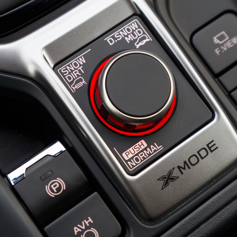 Sistema XMode promete ajuste impecável da tração integral a diferentes situações, incluindo aventuras no fora-de-estrada