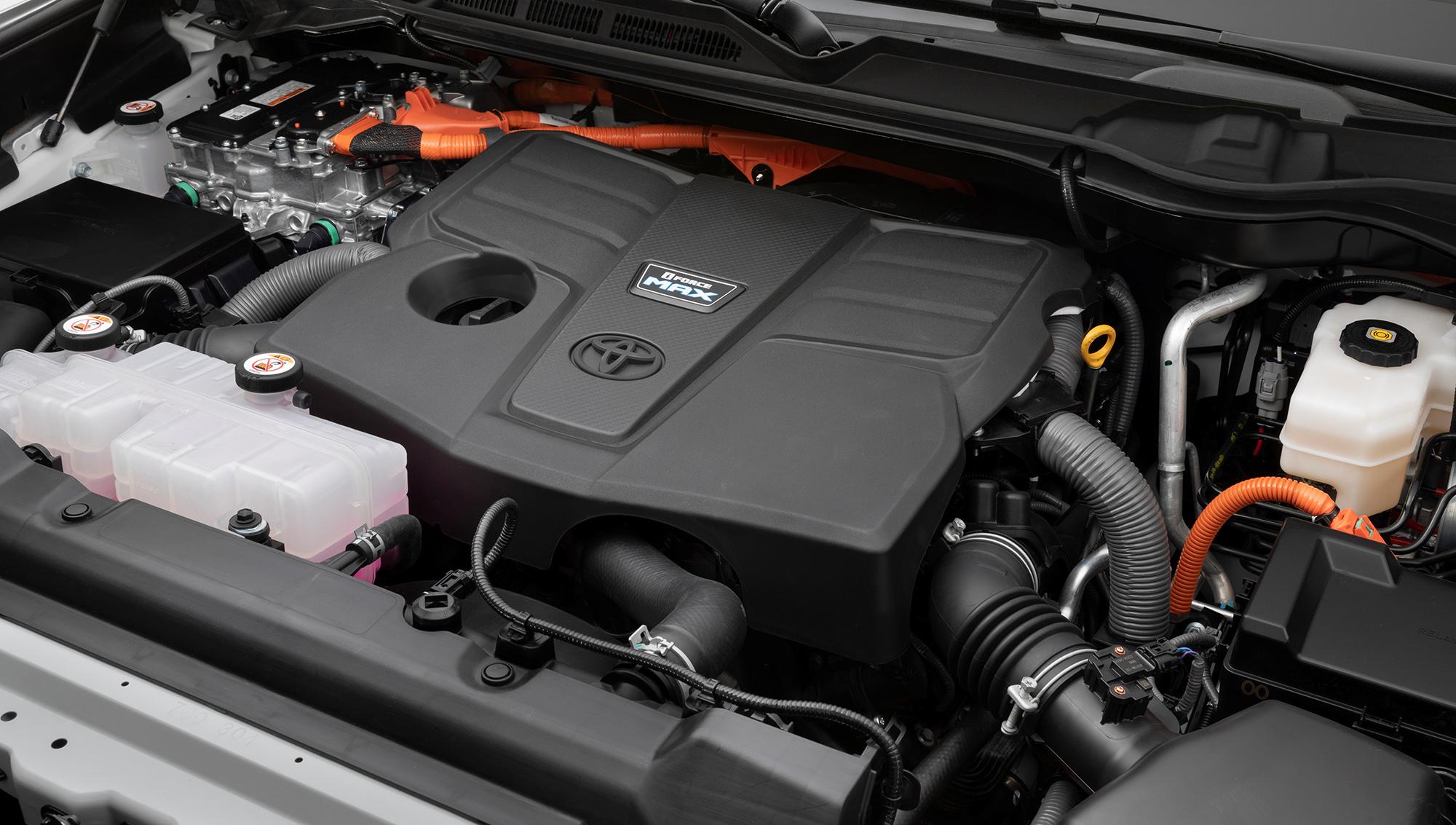 Motor da versão TRD Pro da Toyota Tundra 2022