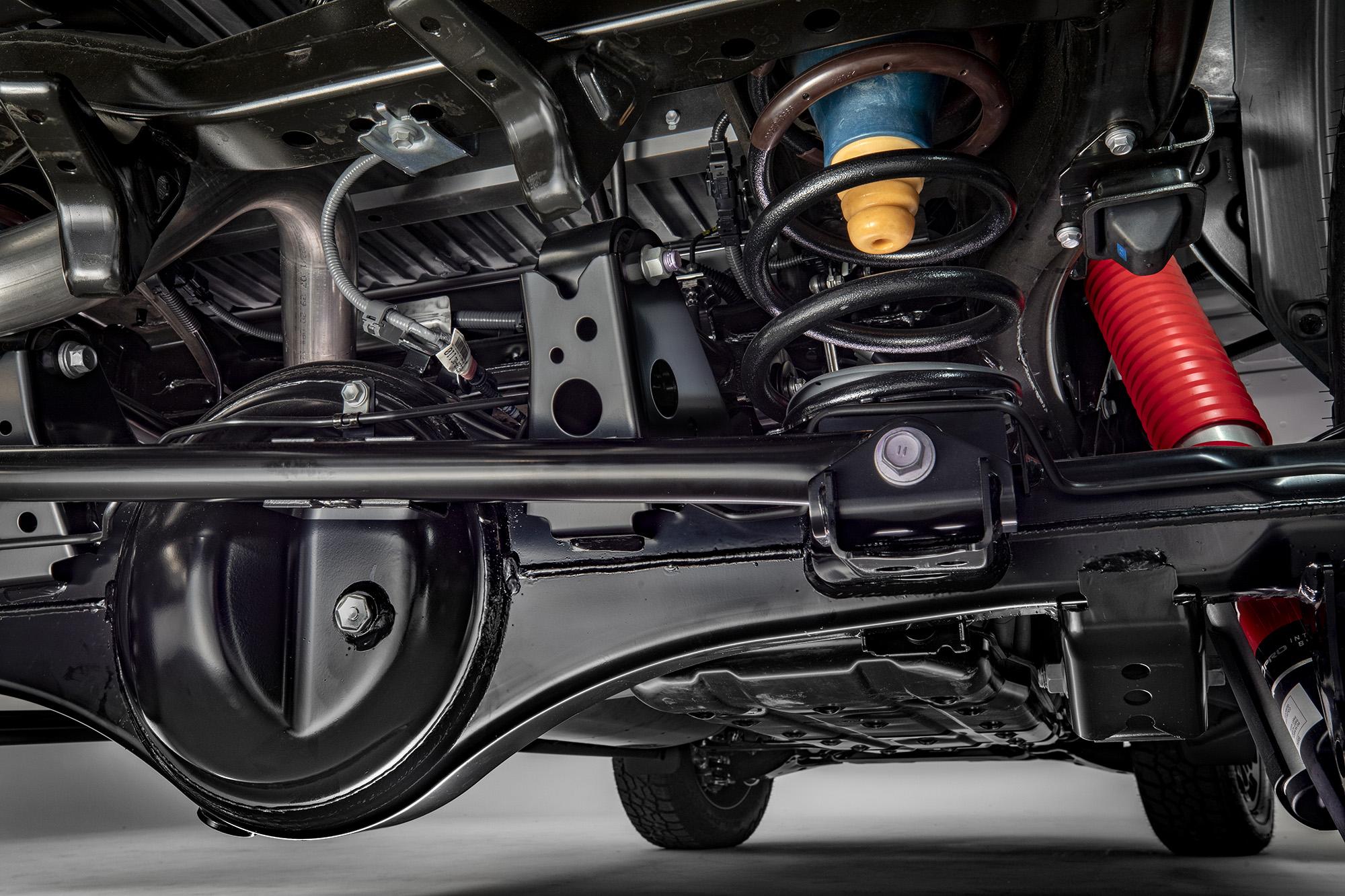 Suspensão traseira redesenhada da Toyota Tundra 2022