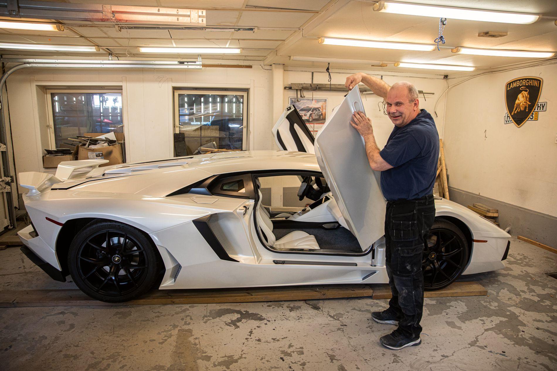 Norueguês usa peças de Fiat para fazer réplica do Lamborghini Aventador