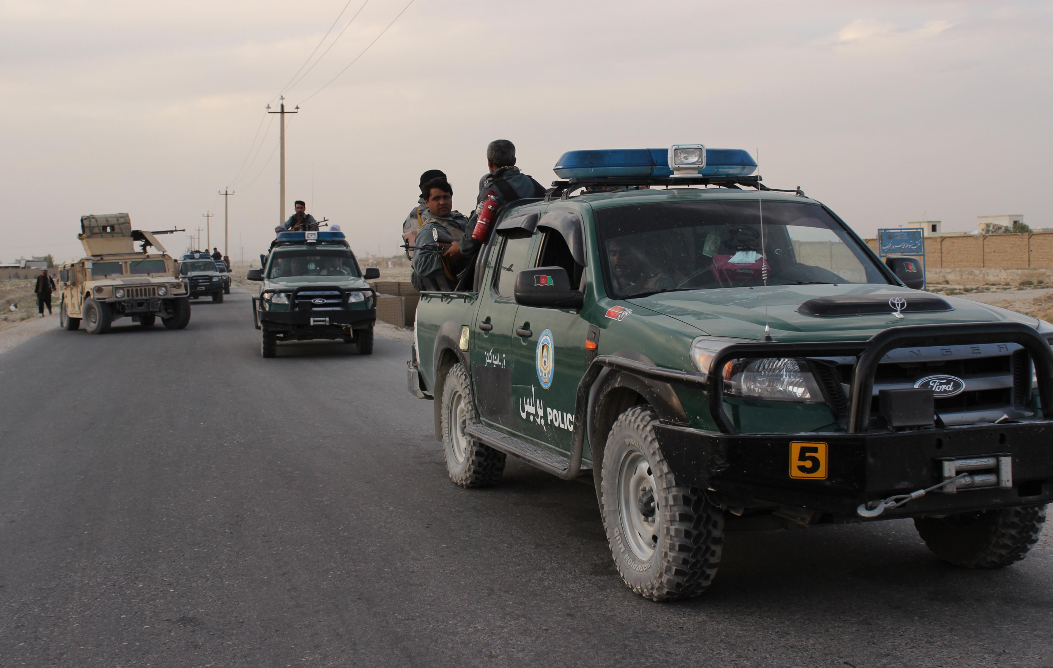 Ford Ranger talibã