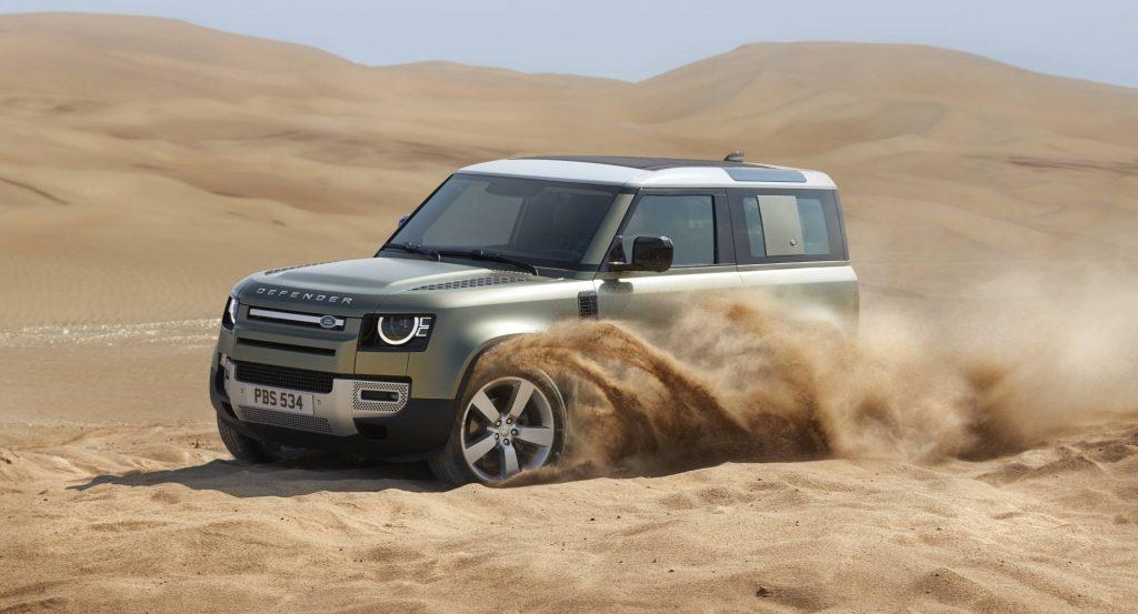 Land Rover 90 deserto