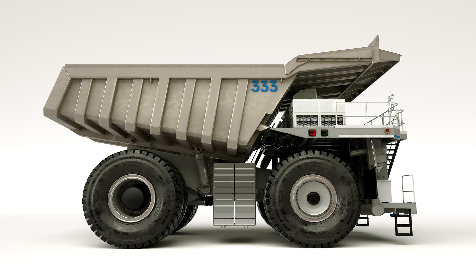 Rolls-Royce revela seu novo híbrido: um caminhão 35.7 com 2216 cv