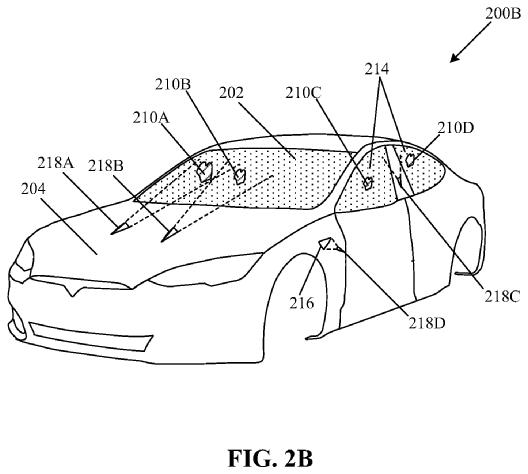 Patente de sistema de limpeza de para-brisa a laser