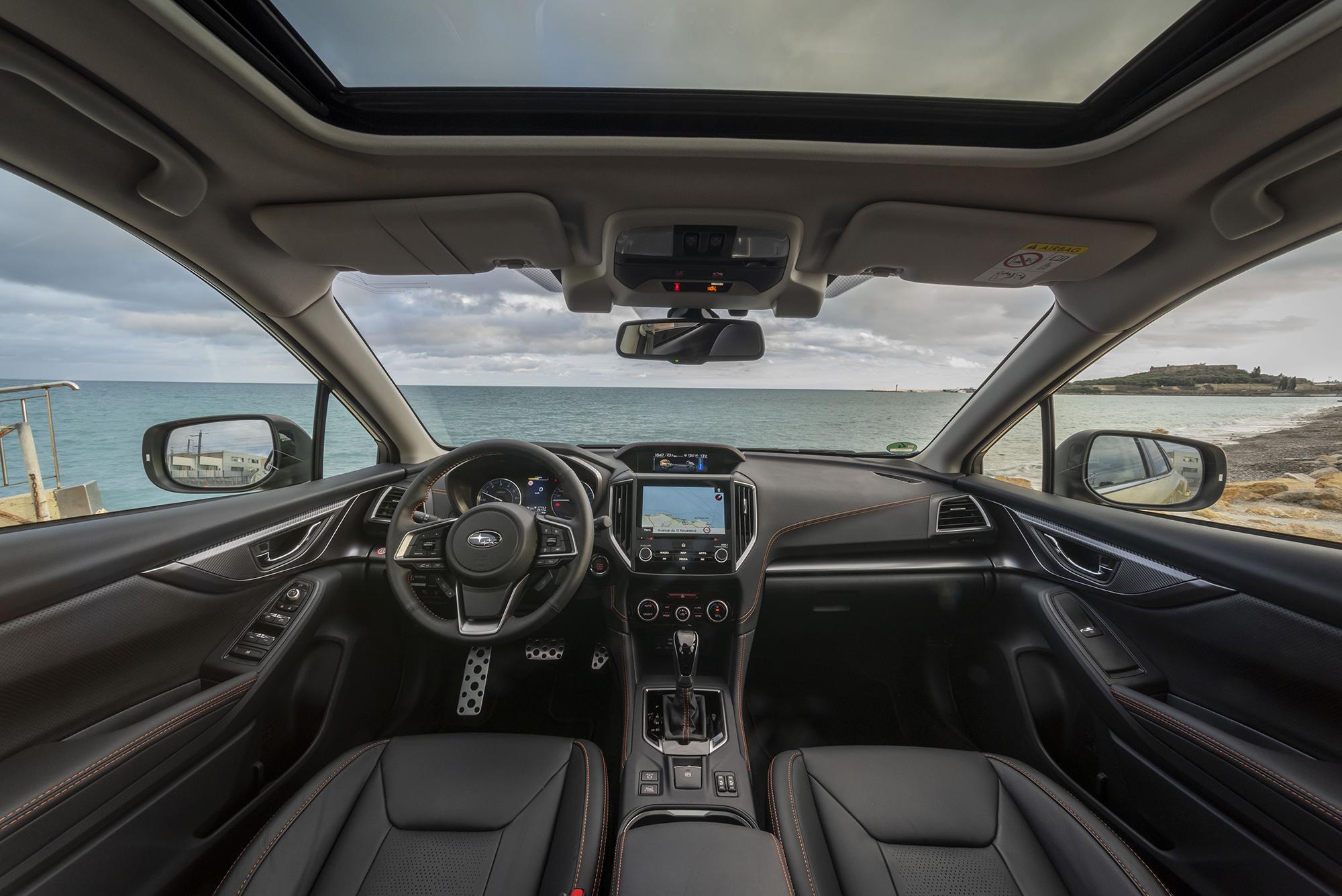 Interior do novo Subaru XV e-Boxer