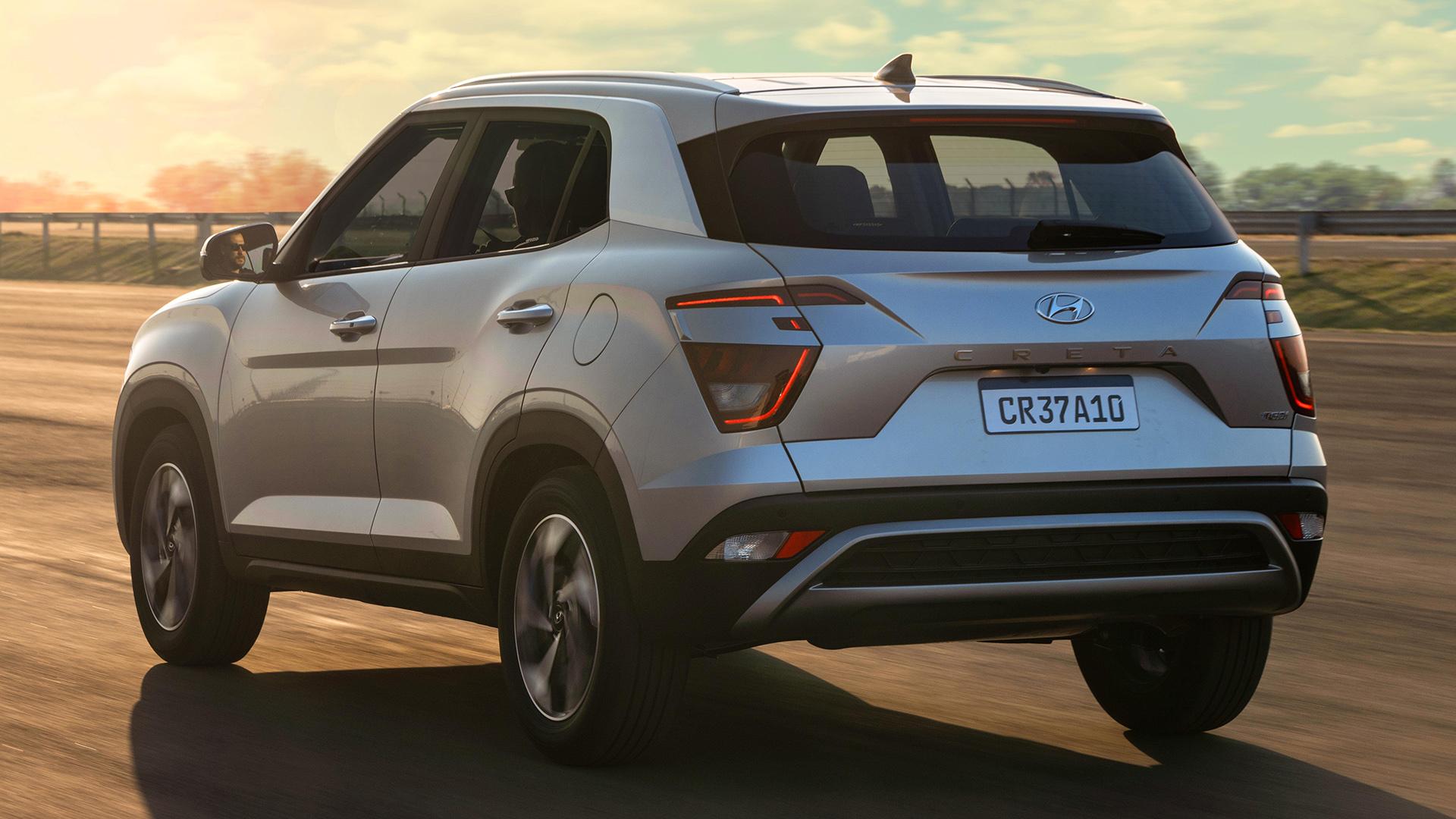 Traseira Hyundai Creta 2022