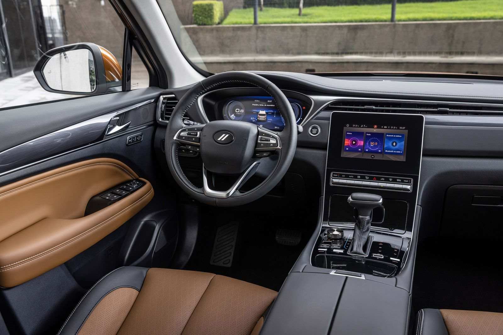 Interior do Dodge Journey 2022