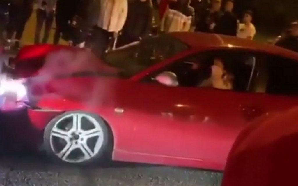 Seat Ibiza vermelho
