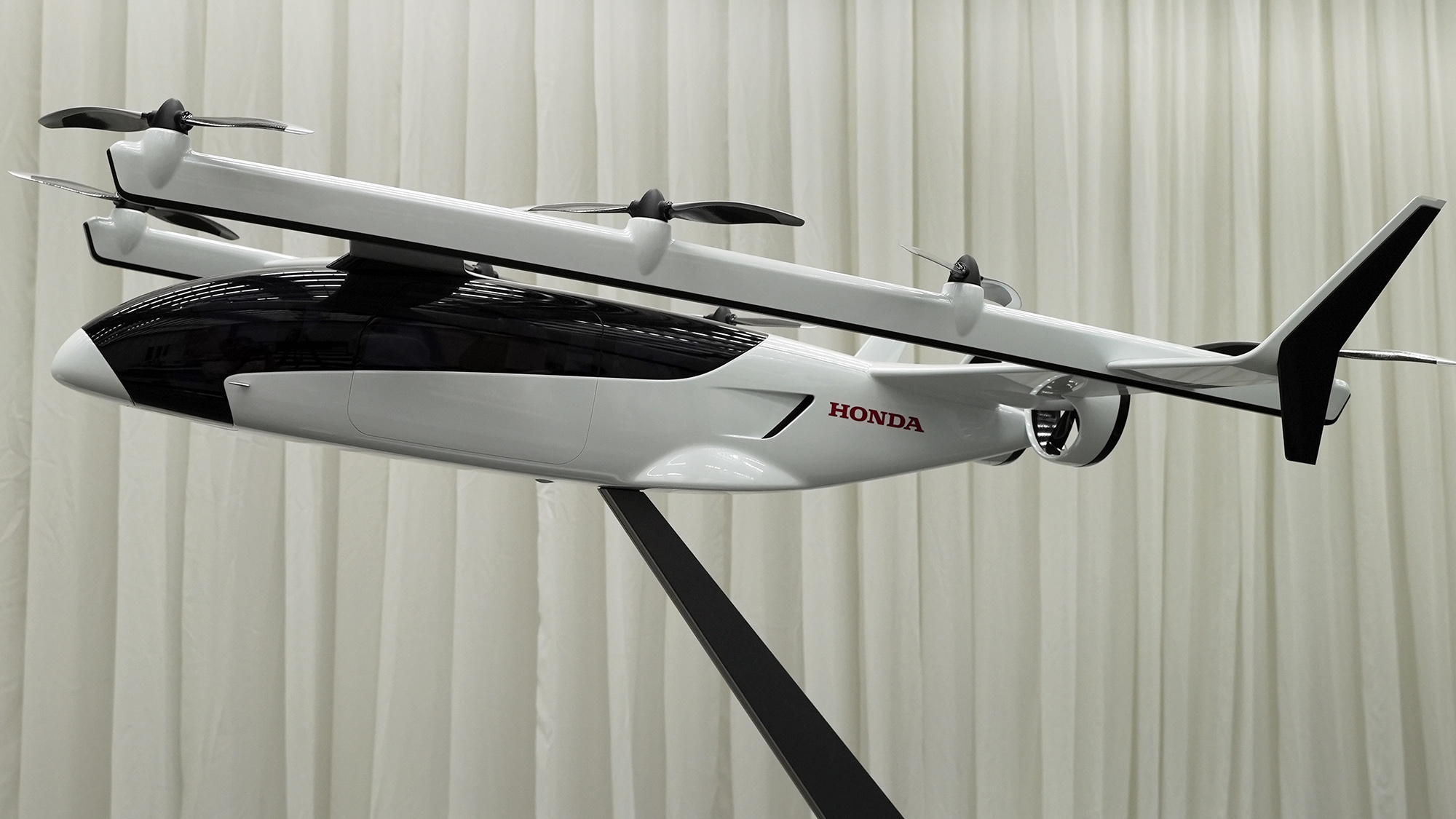 Miniatura dos táxis voadores da Honda