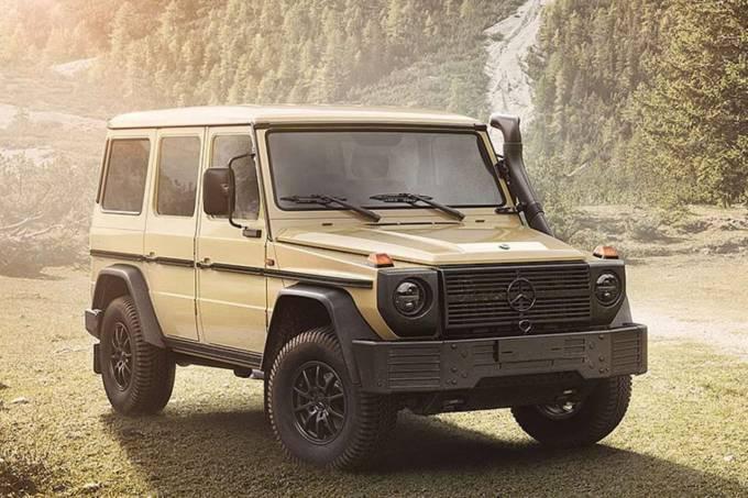 Mercedes Benz Classe G W464 Militar (5)